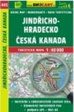 mapa cyklo-turistická Jindřichohradecko,445