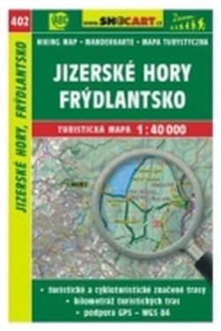 mapa cyklo-turistická Jizerské hory,402