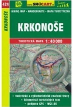 mapa cyklo-turistická Krkonoše,424