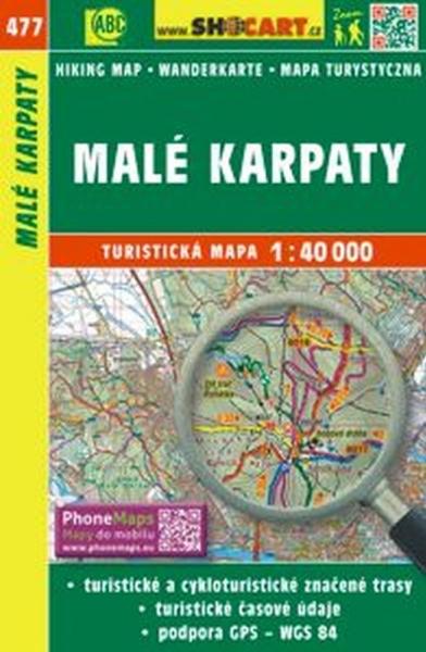 mapa cyklo-turistická Malé Karpaty,477