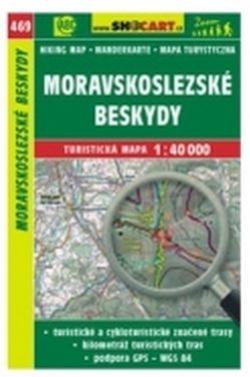 mapa cyklo-turistická Moravskoslez. Beskydy,469