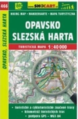 mapa cyklo-turistická Opavsko,466