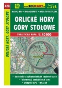 mapa cyklo-turistická Orlické hory,428