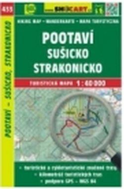 mapa cyklo-turistická Pootaví,Sušicko,433