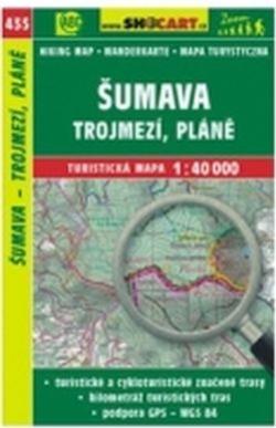 mapa cyklo-turistická Šumava,Trojmezí,435