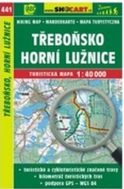 mapa cyklo-turistická Třeboňsko,441