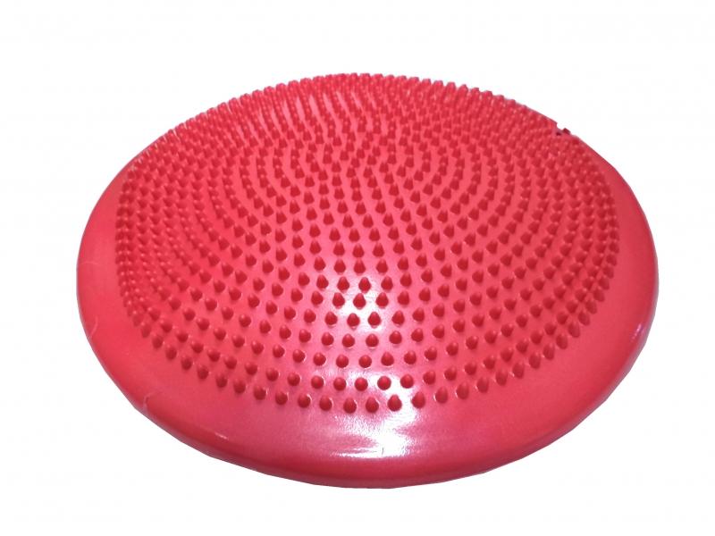 masážní a balanční disk 33cm růžový