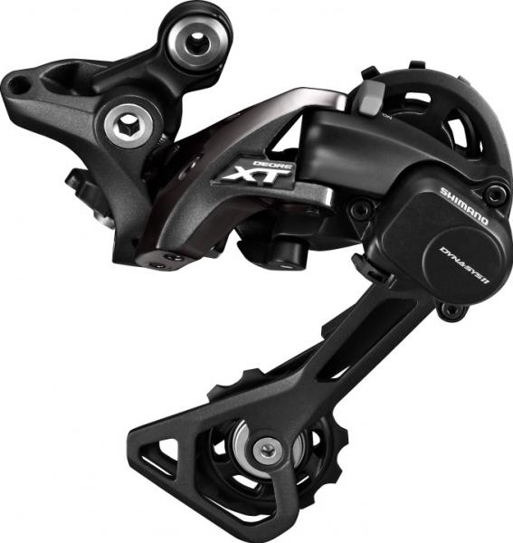 Měnič MTB 11k Shimano XT M8000 černý střední vodítko