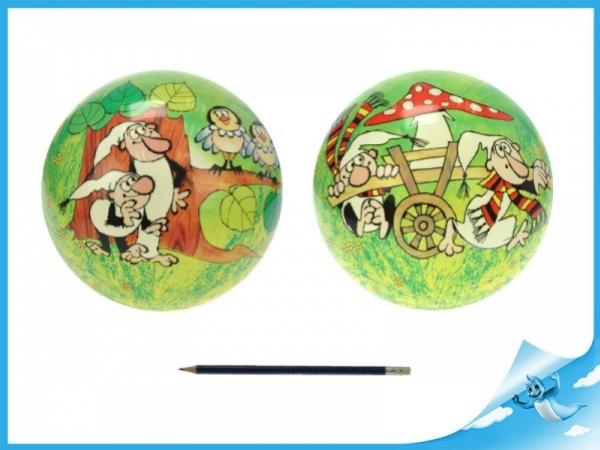 míč 23cm Křemílek a Vochomůrka