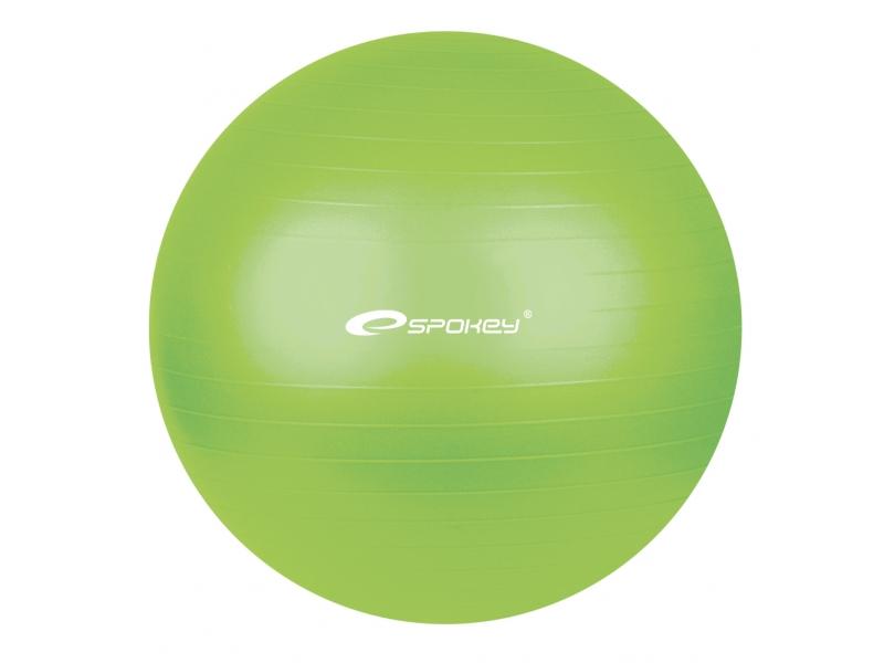 míč gymnastický Spokey FITBALL 75cm zelený s pumpičkou