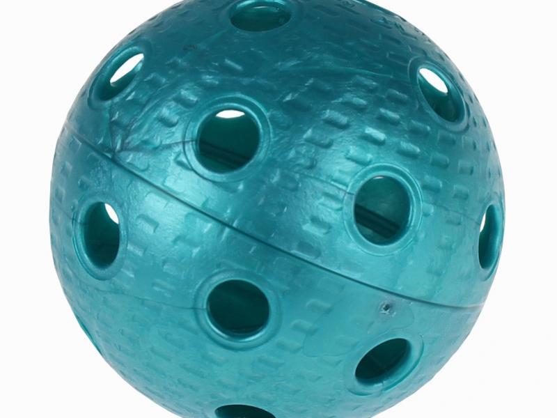 míček florbal IFF certifikovaný petrolový