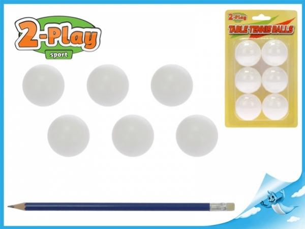 míčky stolní tenis 6ks