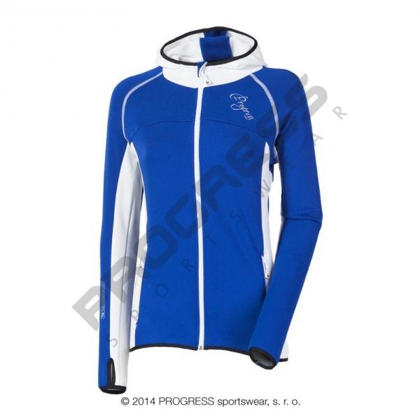 mikina dámská Progress TIBA modro/bílá