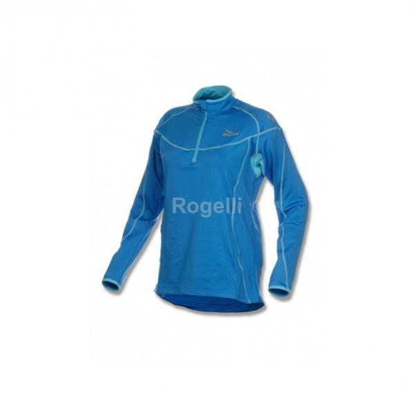 mikina dámská Rogelli HIROKO funkční modrá