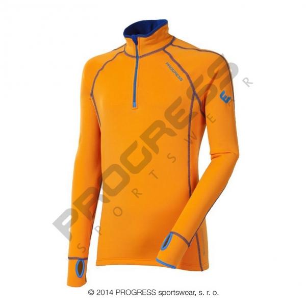mikina pánská Progress TAMIL oranžová