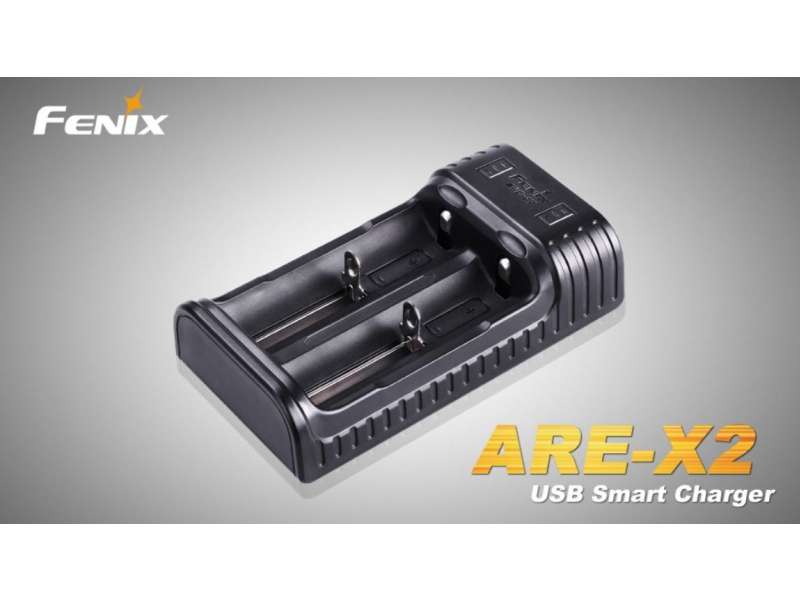 nabíječka Fenix ARE-X2 USB (Li-Ion a NiMH)