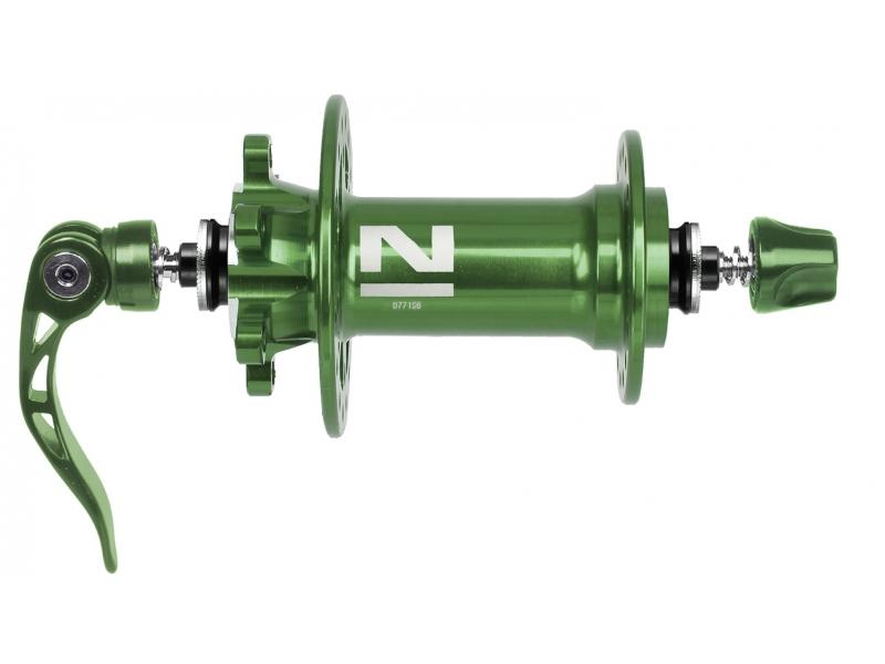 náboj Novatec D771SB/A Al 32d přední zelený