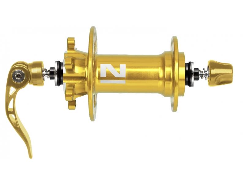 náboj Novatec D771SB/A Al 32d přední zlatý