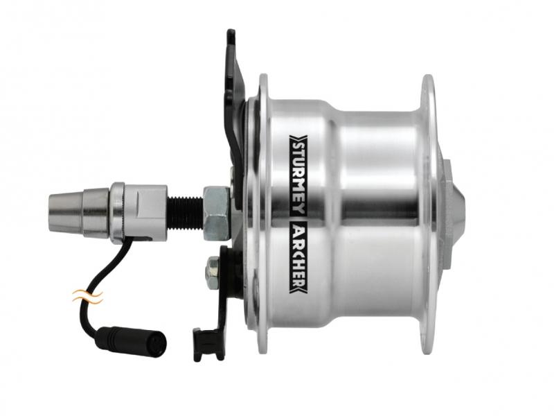 náboj Sturmey-Archer X-SDD letmý,dynamo 6V/3.0W brzda 70mm