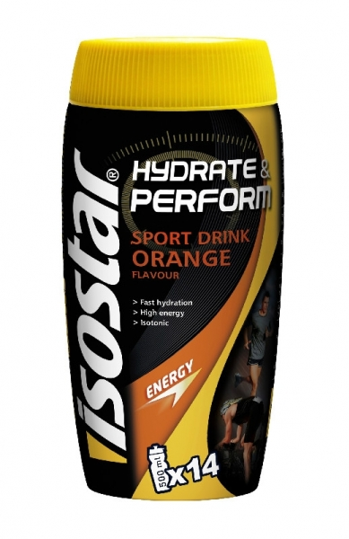 prášek ISOSTAR Hydrate & Perform 560g antioxidant orange