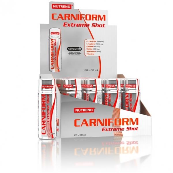 nápoj Nutrend CARNIFORM SHOT 20x60ml