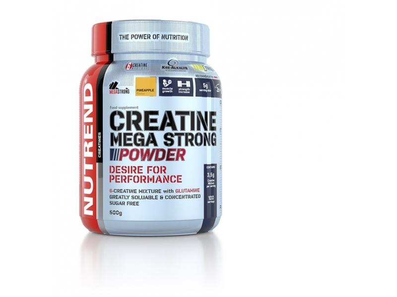 nápoj Nutrend Creatine Mega Strong Powder 500g punč+lesní plody