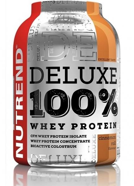 nápoj Nutrend DELUXE 100% WHEY 2250g skořicový šnek