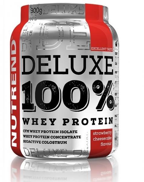 nápoj Nutrend DELUXE 100% WHEY 2250g jahodový cheesecake