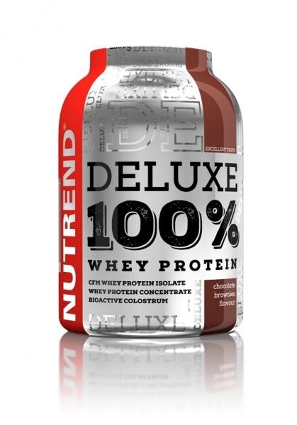 nápoj Nutrend DELUXE 100% WHEY 2250g čokoládové brownies