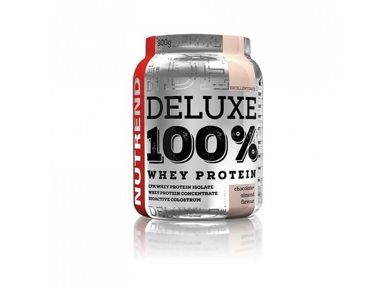 nápoj Nutrend DELUXE 100% WHEY 900g jahodový cheesecake