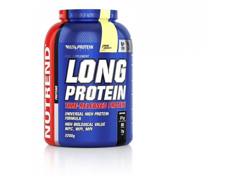 nápoj Nutrend Long Protein 2200g citron+jogurt