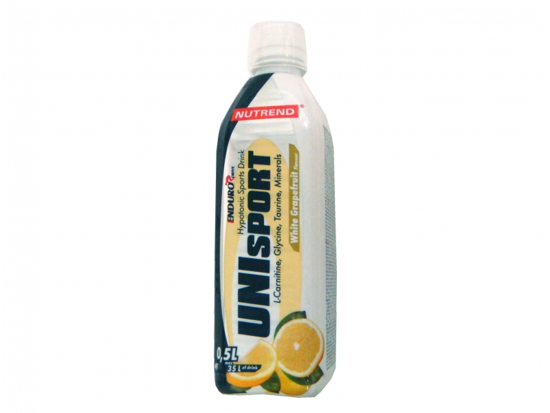 nápoj Nutrend Unisport 0.5l bílý grep