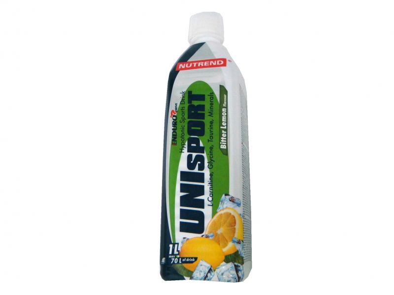 nápoj Nutrend Unisport 1l bitter lemon