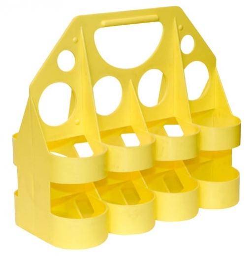 nosič na láhve Tempish žlutý na 8ks