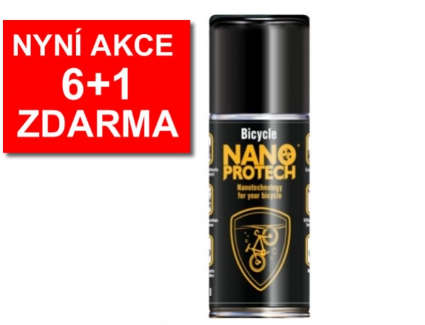 olej NANOPROTECH Bicycle spray AKCE 6+1