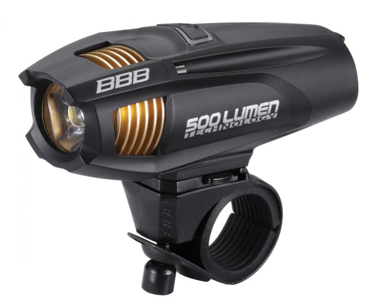 osvětlení přední BBB Strike 500 černé