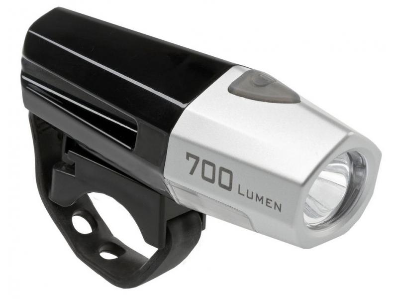 osvětlení přední SMART 185 USB černé 700lm
