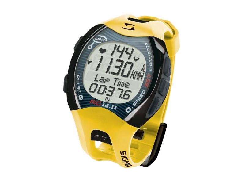pulsmetr SIGMA RC 14.11 žlutý