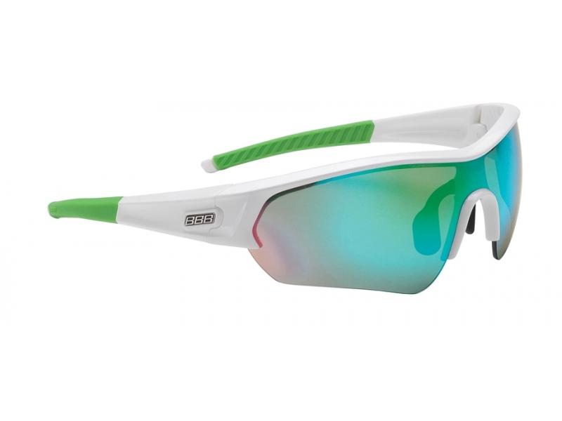 brýle BBB SELECT MLC bílo-zelené