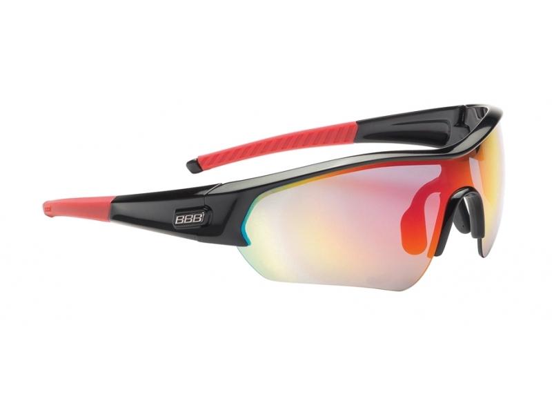 brýle BBB SELECT MLC černo-červené
