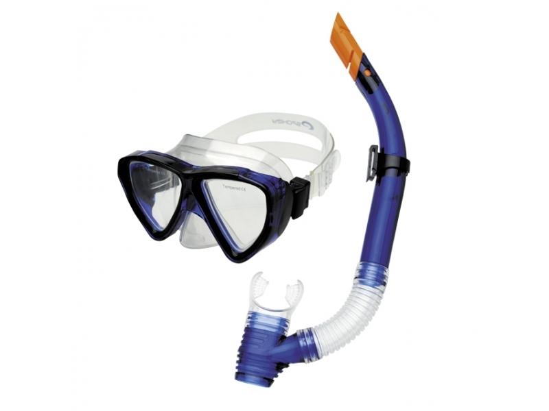 brýle+šnorchl Spokey QUARIUS modrá