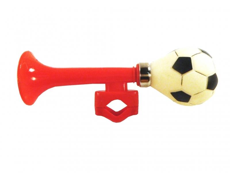 houkačka úzká fotbal červená