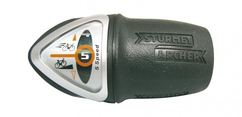 řazení Sturmey-Archer 5r twist
