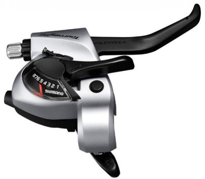 řadicí a brzdová páka Shimano Tourney TX ST-TX800 8p servisní balení