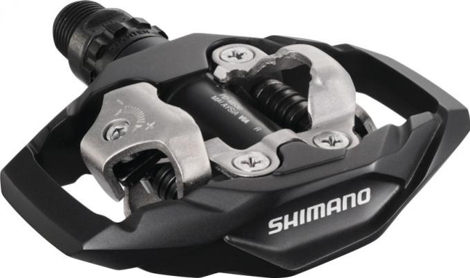 Pedály nášlapné Shimano PD-M530 - černé