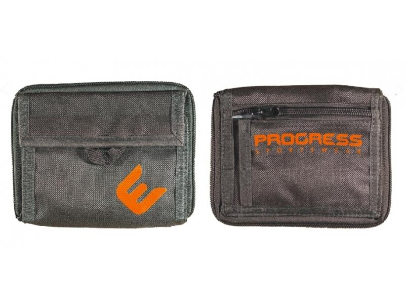 peněženka Progress černo/oranžová