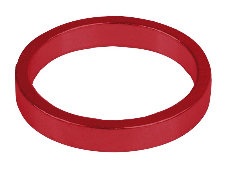 Podložky AH M-Wave Al 11/8 5mm červené 6ks