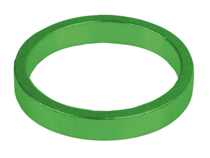 Podložky AH M-Wave Al 11/8 5mm zelené 6ks