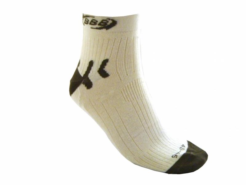 ponožky BBB HighFeet bílé