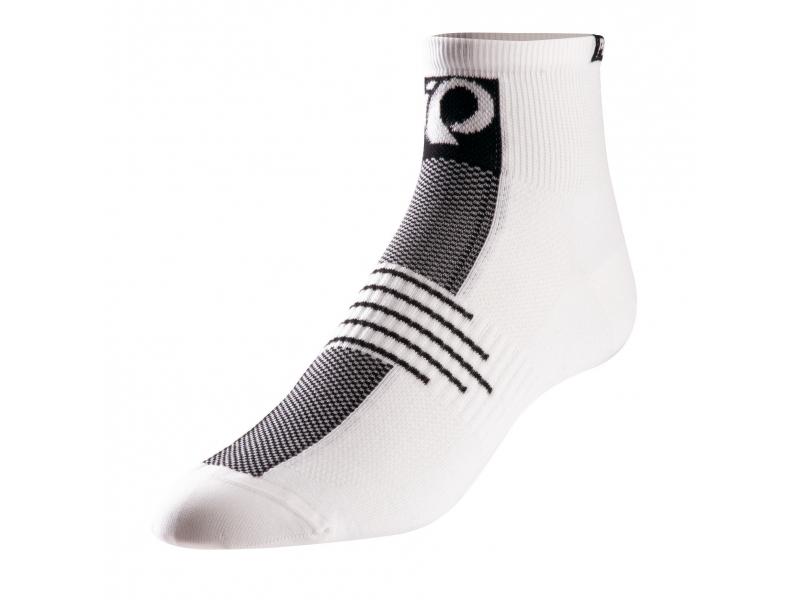 ponožky PEARL iZUMi ELITE nízké  bílé